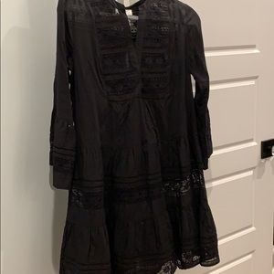 Velvet by Graham & Spencer black dress, size S